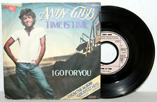 "7"" Vinyl - ANDY GIBB - Time Is Time"