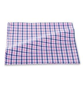 $95 Tallia Men'S Pink Check Cotton Classic Handkerchief Pocket Square Hanky