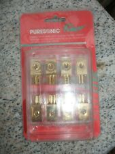 Puresonic Power Car Audio Delivery System Jewlery Quality 24 ct Gold Plated 6310