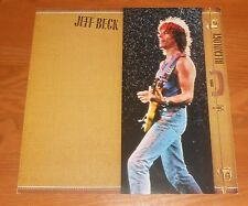 Jeff Beck Beckology Poster 2-Sided Flat Square 1991 Promo 12x12