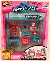 Happy Places Shopkins Season 1 Decorator Pack - Dreamy Bear