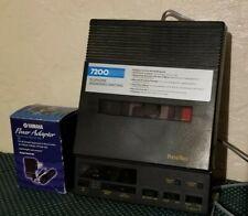 PhoneMate answering machine Dual cassette recorder telephone Model 7200