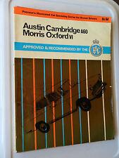 AUSTIN CAMBRIDGE A60 A55 MANUAL MORRIS OXFORD V VI MG RILEY 4/68 WOLSELEY RAC
