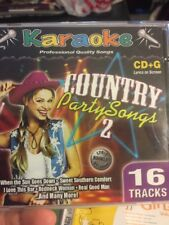Karaoke CD+G - Country Party Songs #2 - New 2004, and 2 others