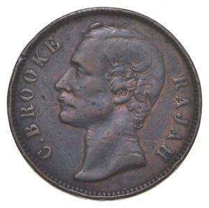 Better Date - 1882 Sarawak 1 Cent *506