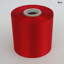 "4"" Wide Red Ceremonial Ribbon for Grand Opening Ceremony 50 Yard Roll"