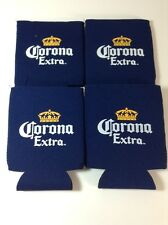 4 Corona Extra Beer Bottle Can Koozie Coozie Cooler Brand New!!