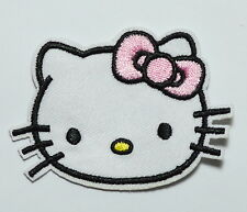 100 pcs Pink Hello Kitty Iron On Patches,Made of Cloth Guaranteed 100% Quality