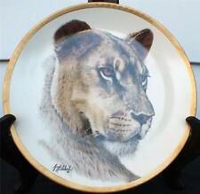 Vintage 1994 Lenox Great Cats of the World Collection Lioness Décor Plate