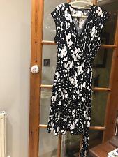 Tiana b Faux Wrap dress, Size 12, Black & white