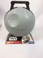 NEW Hot Wheels Star Wars Death Star Portable Playset Display Carry Case Mattel