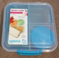 Sistema Bento Cube-To Go 1.25 L-Alimentation saine-Boîte déjeuner-Bleu et Clair