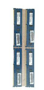 Mémoire PC / Ram - Elpida - lots 4 (4 x 2 Go) - 2 Go - PC3-10600U / DDR3 1333Mhz