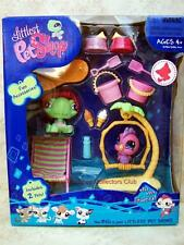 Littlest Pet Shop Beach Fun Giftset TURTLE & COCKATOO lot #922 #923 Retired NIB