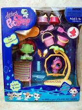 Littlest Pet Shop Beach Fun Giftset TURTLE & COCKATOO lot #922 #923 Retired NIB