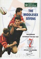 Programme Rugby Union Middlesex 7's @ Twickenham 17.5.1997