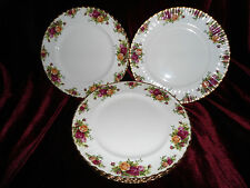 6 ALBERT OLD COUNTRY ROSES - DINNER PLATES  10 1/4""