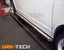 VW T5 T5.1 T6 Transporter Stainless Steel LWB Slash Cut End Side Bars