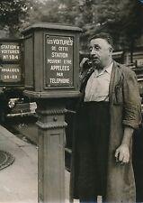 """PARIS 1955 - Bornes """"Appels Taxis""""  Chauffeur - PR 73"""