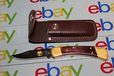 Buck 110 Alaskan Guide Bos S30V Pockit Knife W/Sheath New Free Shipping.