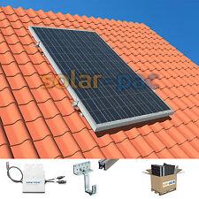 Mini-Solaranlage zur Einspeisung in die Steckdose | 270 Watt für 230V Hausnetz