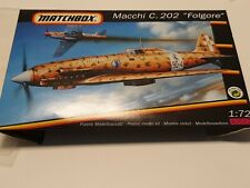 MACCHI MC.202 FOLGORE MATCHBOX 1:72