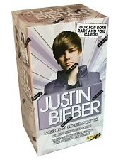 2010 Panini Justin Bieber Trading Cards 9 Pack Blaster Box