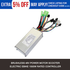 48V 1000W Electric Bicycle Speed Motor Controller For E-bike Electric Scooter