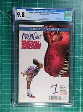 Moon Girl Devil Dinosaur #1 Timely Comics NM CGC 9.8 1st App Lunella Lafayette🔥