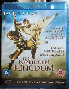 THE FORBIDDEN KINGDOM BLU RAY - NEW, STILL SEALED - JET LI & JACKIE CHAN