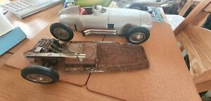 Vintage Tin Plate Car Made In West Germany