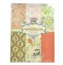 Wrapping Paper Book 24 Pages Victorian
