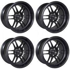 16x7 MST Suzuka 4x100/4x114.3 25 Matte Black Wheel New set(4)