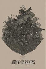 Richey Beckett Evil Dead Army Of Darkness Poster VARIANT - MONDO