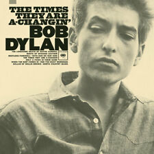 Bob Dylan - The Times They Are A-Changin' - Miniature Poster + Black Card Frame