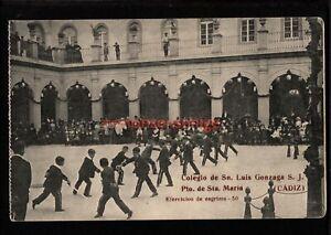 SPAIN CÁDIZ COLEGIO Sn. LUIS GONZAGA S. MARIA EJERCICIOS DE ESGRIMA SWORDS SP156
