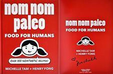 Michelle Tam~SIGNED~Nom Nom Paleo: Food for Humans~1st/1st HC + Photos!
