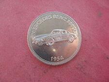 1954 MERCEDES BENZ 300SL MOTORCAR SHELL TOKEN COIN