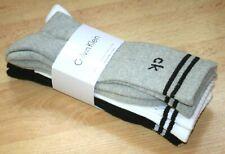 Calvin Klein Homme Ras Cheville 3 Paires SPORTS Gym Chaussettes Ru 6.5-11 Europe