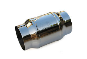 "MRC VENOM Exhaust stainless 100 cell High flow 3.5"" Catalytic Cat converter"
