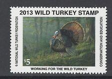 2013 National Wild Turkey Federation Stamp