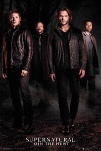 Supernatural Season 12 Key Art TV Drama Cult Maxi Poster Print 61x91.5cm   24x36
