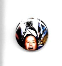 "Johnny Hallyday / Fabrice Luchini "" Badge """