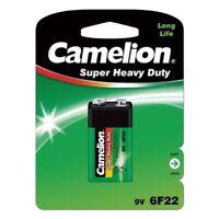 Blockbatterie Block Batterie 9 V Super Heavy Duty Batterien Uhr Wecker