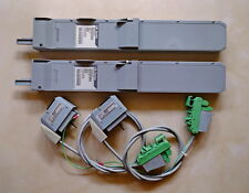 FOXBORO A PAIR OF FBI P0400VE FIELDBUS ISOLATOR WITH CABLE P0800DC