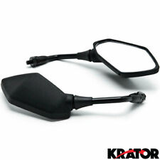 Black Replacement Mirrors For Kawasaki Z1000 Z750 Versys Kle 650 Zrx1100 Zrx1200