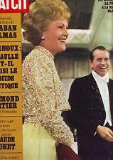 Paris Match N 1086 - fevrier 1970 - les nixon