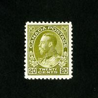 Canada Stamps # 119 VF OG LH Catalog Value $110.00