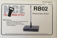 NCE 23 RB02 2nd Generation Radio Base for Wireless DCC RB-02   MODELRRSUPPLY-com