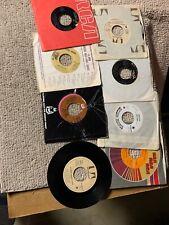 lot of 8-D. different Paul Anka Rock Pop vinyl records 45